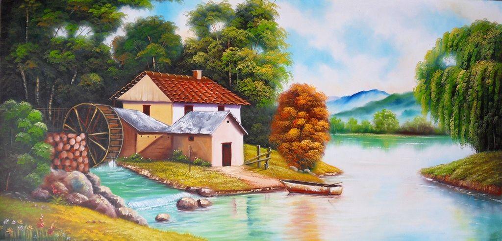 Im genes arte pinturas cuadros de paisajes f ciles para - Cuadros para pintar ...