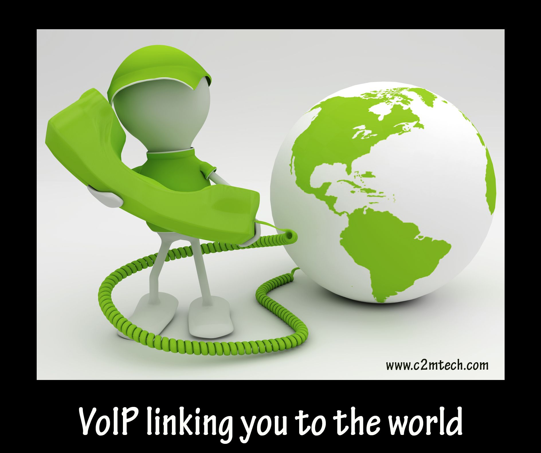 Connecting the World VOIP Linking You to the World http