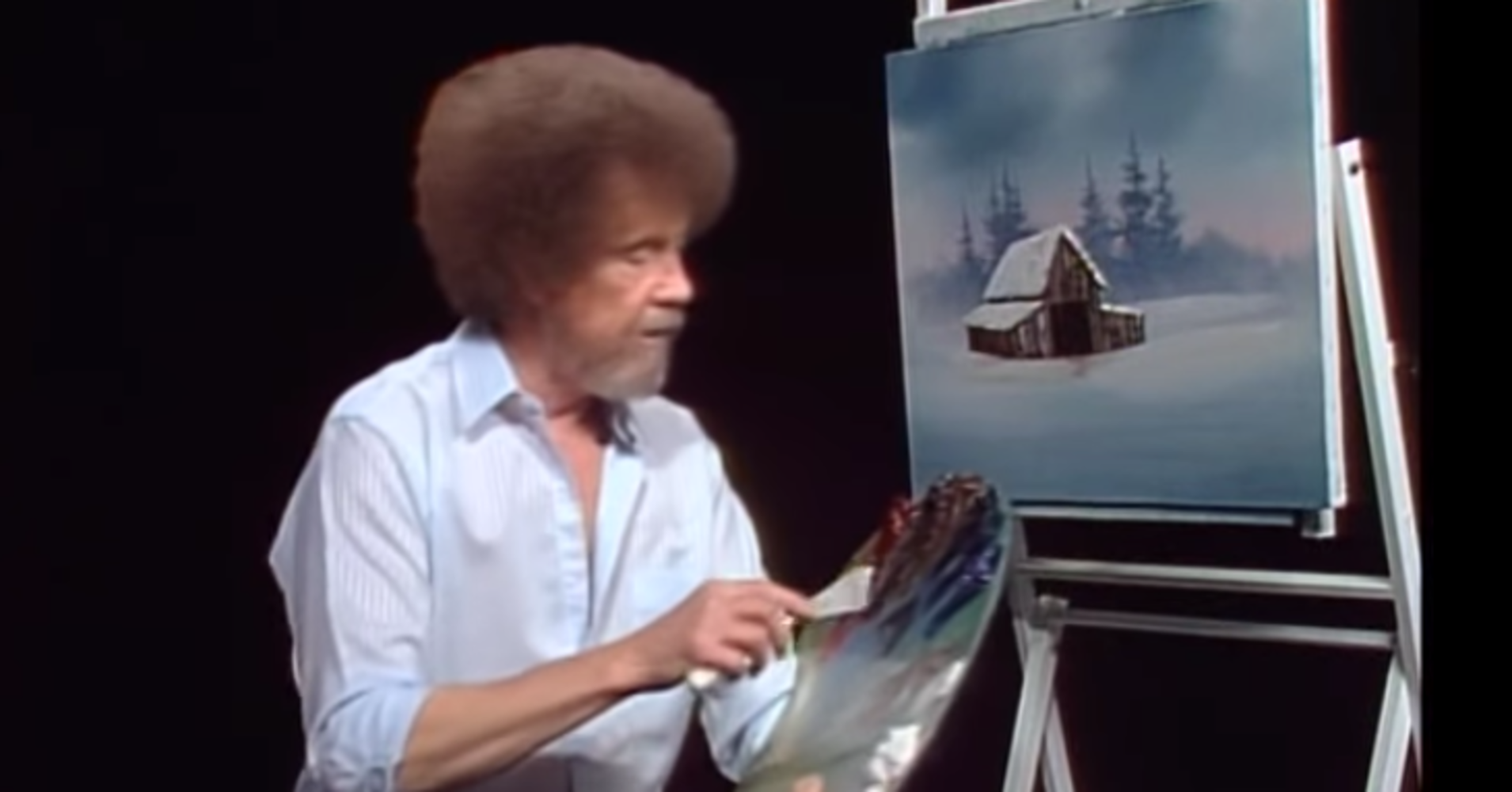 Happy Little You Can Now Surf Random Bob Ross Videos Online, Forever