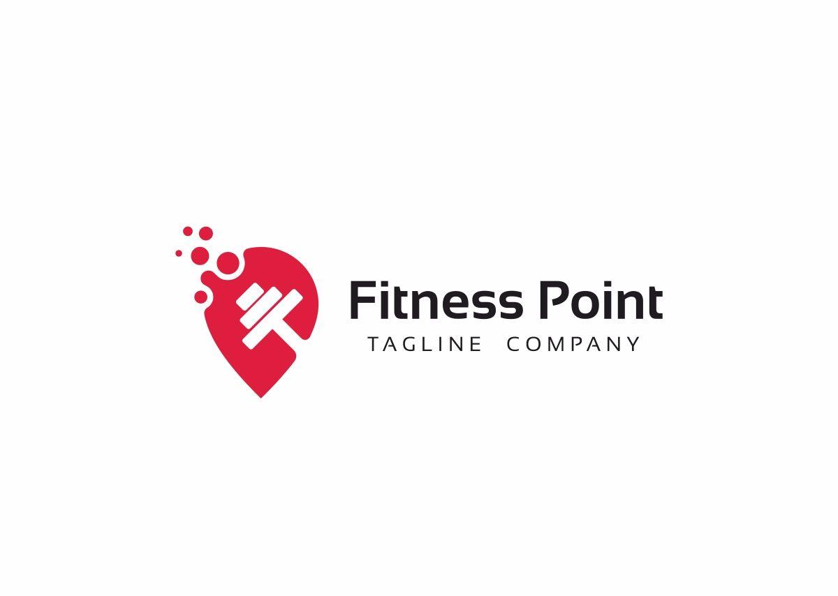 Fitness Point Logo Template 69026 Fitness Logo Design Logo Templates Fitness Logo