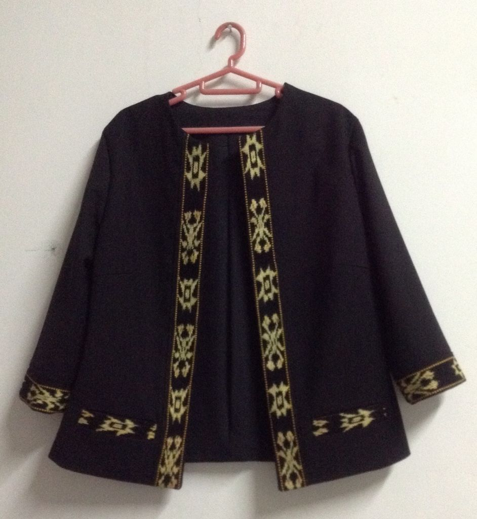 Simple blazer for tasya ikat u batik indonesia pinterest model