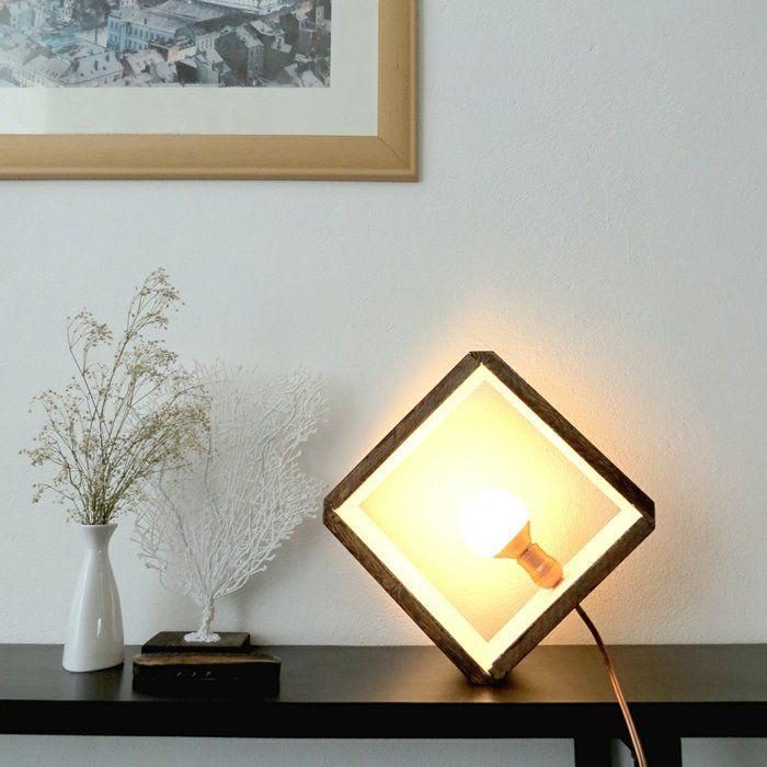 schlichte diy lampe