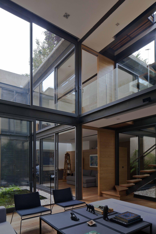 Casa De Los Cuatro Patios C Onnis Luque Arquitectura Casas