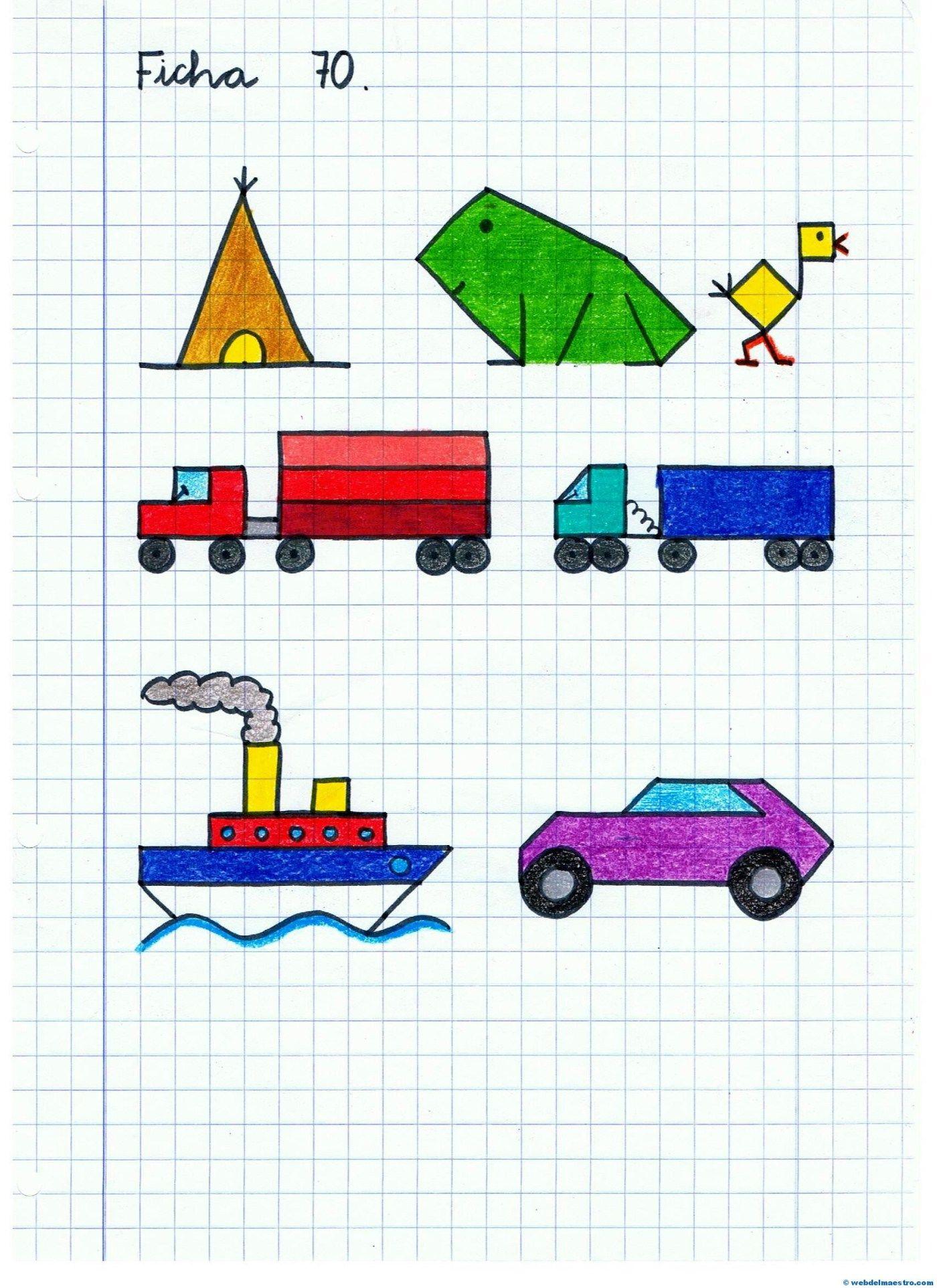 Dibujos Serie 10 Dibujos En Cuadricula Cuadricula Para Dibujar Dibujos Para Ninos