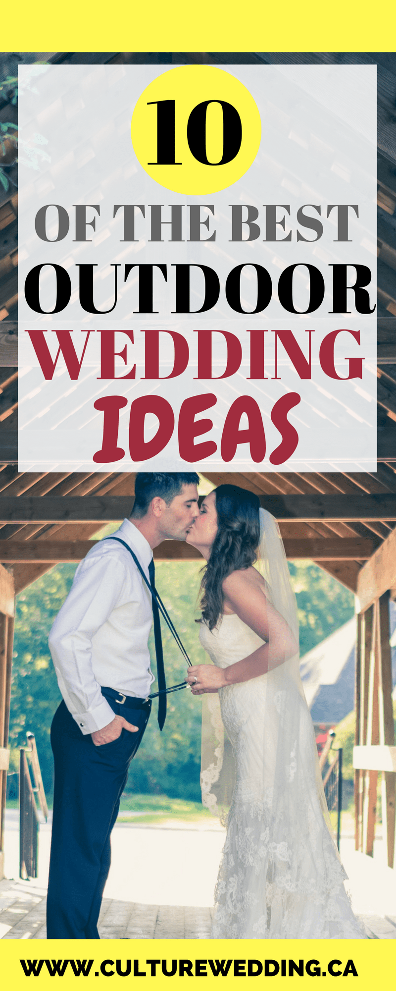 10 of the best outdoor wedding ideas from pinterest budget wedding 10 of the best outdoor wedding ideas from pinterest junglespirit Gallery
