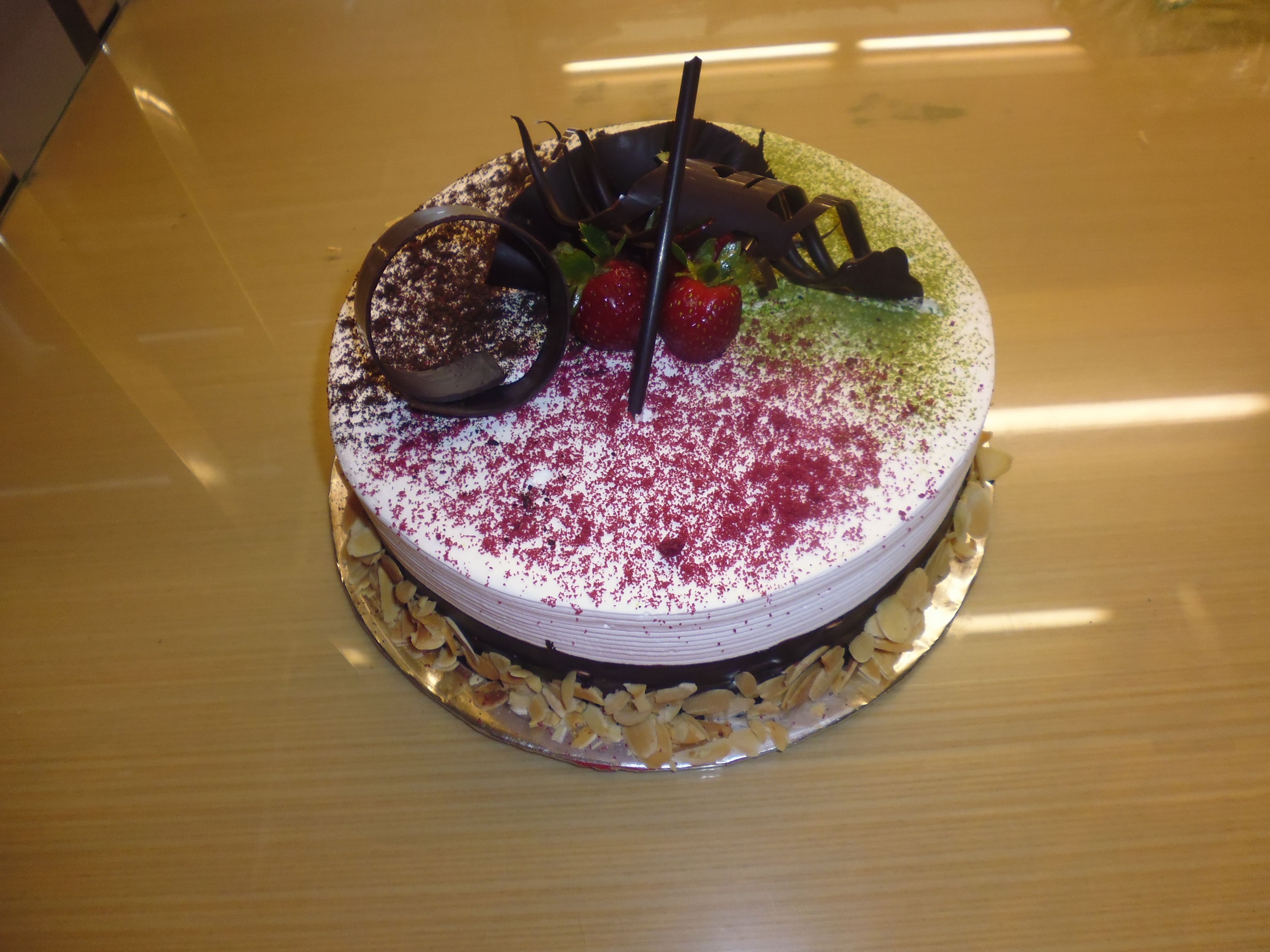Birthday Cake Cheese Inside Made By Strawberry Delight Custom