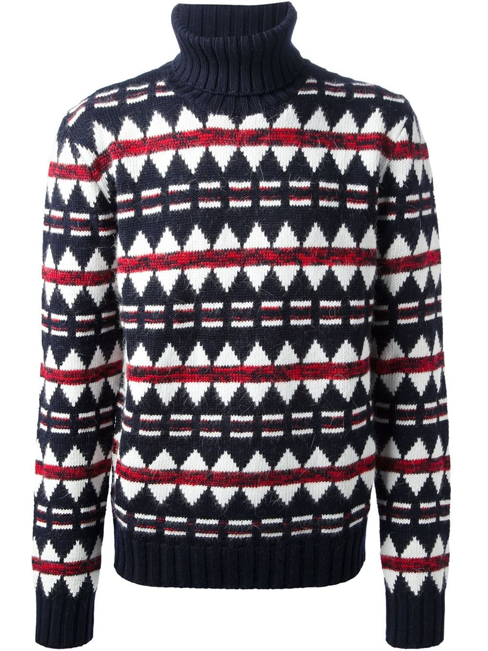 c22b645e3b8b Dsquared2 Patterned Roll Neck Sweater - Elite - Farfetch.com Roll Neck  Sweater