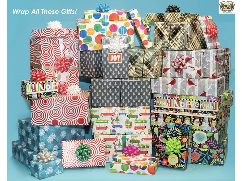 Christmas and Holiday Occasion Gift Wrapping Paper Roll