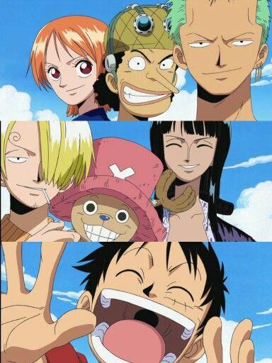 Roronoa Zoro, Usopp, Nami, Sanji, Tony Tony Chopper, Nico Robin, Monkey D. Luffy #mugiwara #onepiece #anime