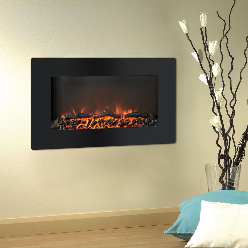 Cambridge Callisto 30 In Wall Mount Electronic Fireplace With