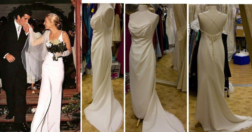 Carolyn Bessette Kennedy wedding dress vintage wedding dresses ...