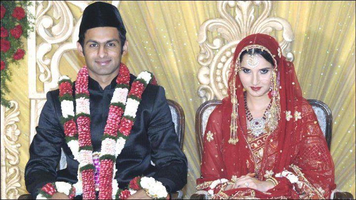 Shoaib Malik Sania Mirza Nikah Picture 5 Wedding