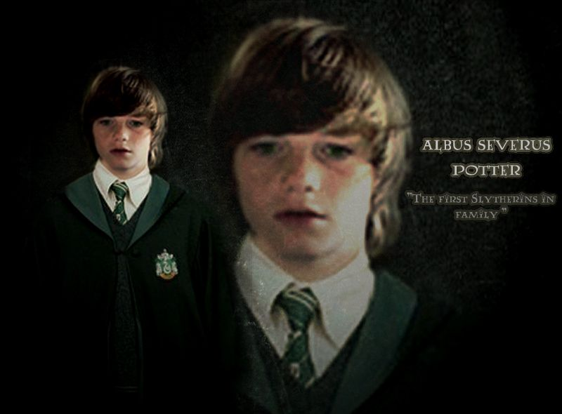 "Albus Potter ""the Slytherin"" by hnl.deviantart.com"