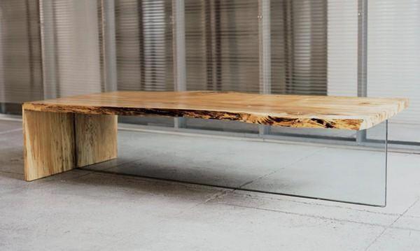 Glazen Houten Salontafel.Boomstam Salontafel Google Zoeken Living Room Furniture