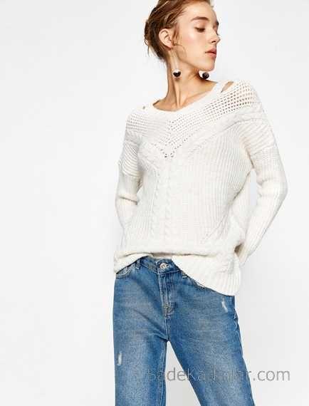 Mavi Renk Triko Elbise Koton 2014 Koton Elbise 2014 Fashion Diva Fashion Sweater Dress