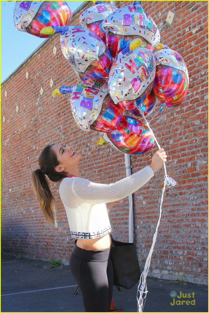 Bethany Mota Gets Even More Balloons On Her Birthday Bethers