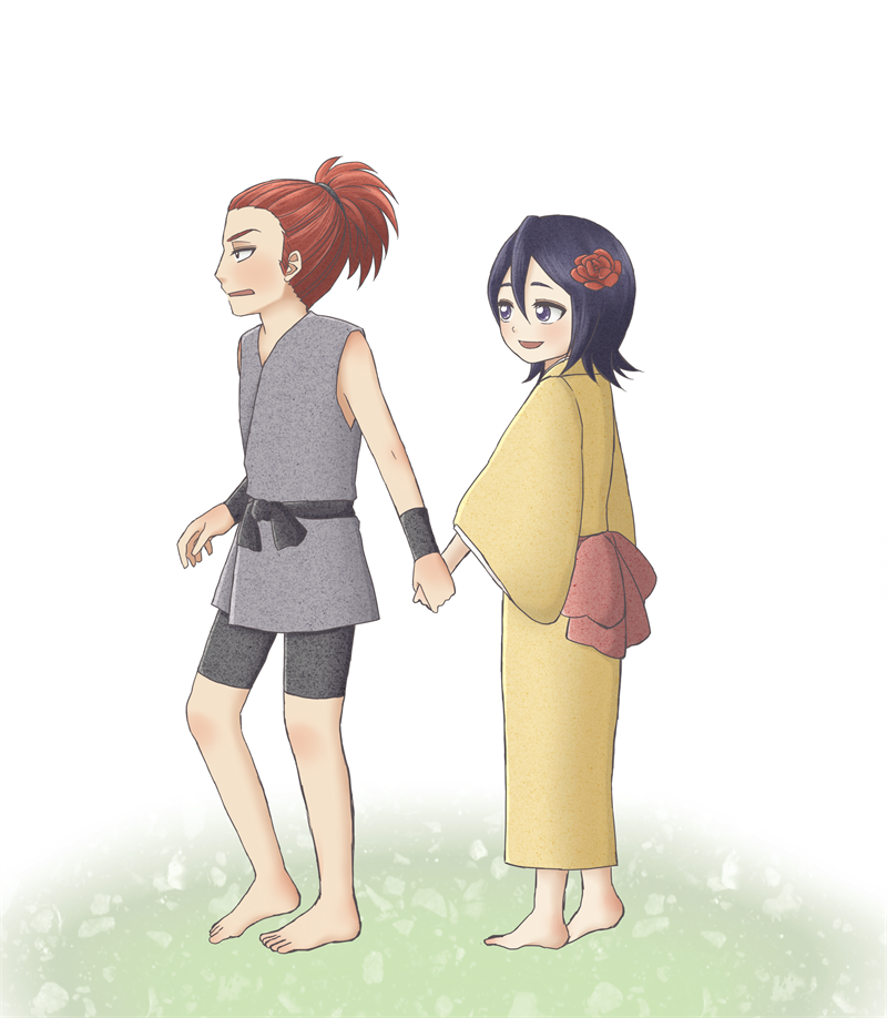 Pin on Bleach Renji & Rukia For Life