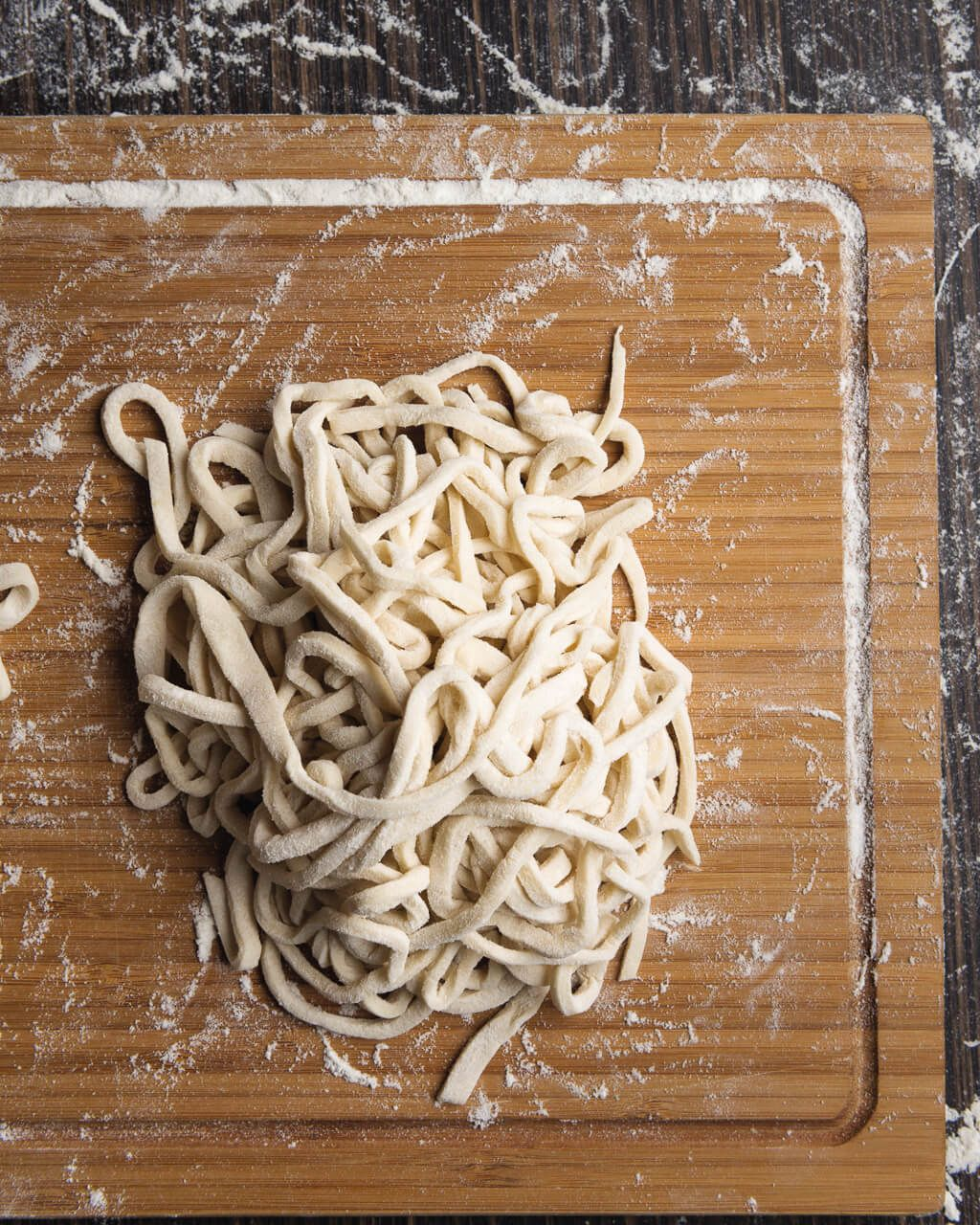 How To Make Udon Noodles Recipe From Iron Chef Morimoto Recipe Udon Noodles Homemade Udon Noodles Recipe Udon Noodles Recipe