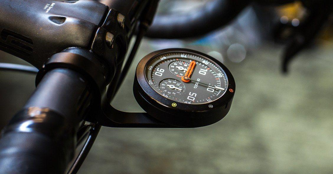 Beautiful Analog Bike Speedometer Hides 21st Century Guts