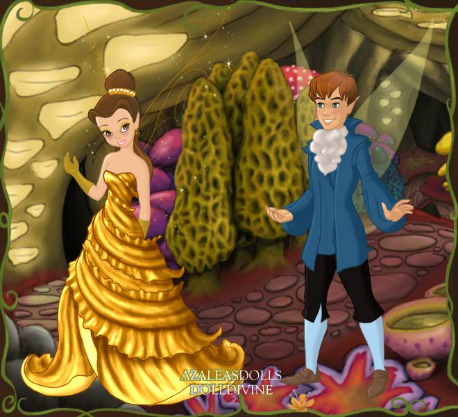 Belle And Adam Pixie Scene Maker Belle And Adam Scene Maker