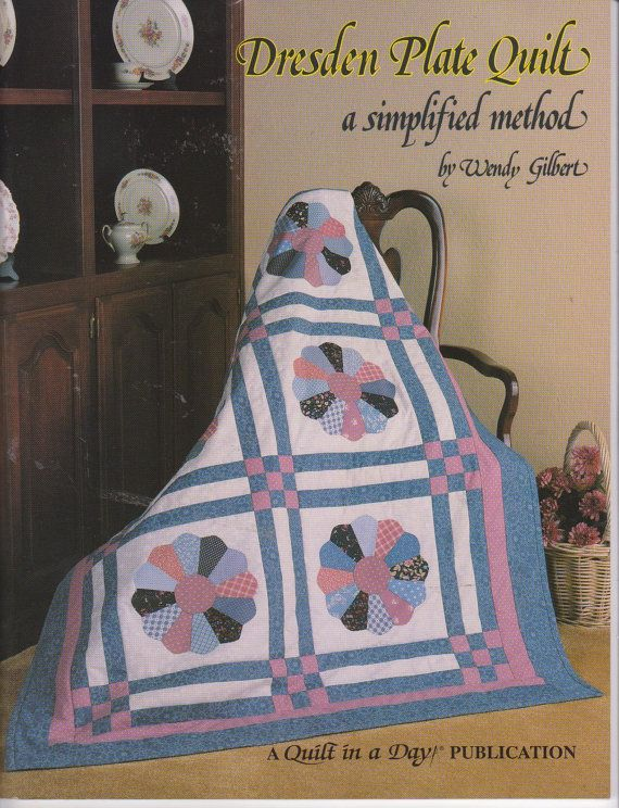 Dresden Plate a simplified method quilt book by by beththebooklady, $1.99