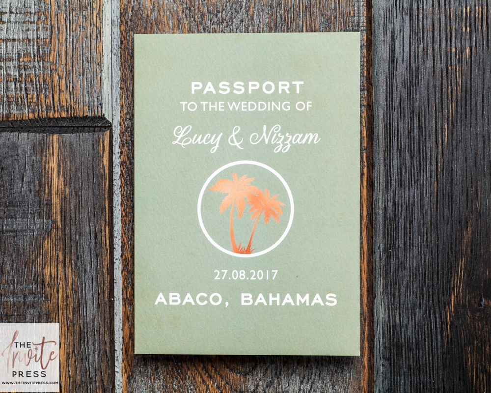 wedding invitation letter formats%0A Come away with me No matter near or far this travelthemed passport wedding  invitation is one of our favourites  The folding format allows plenty of  room to