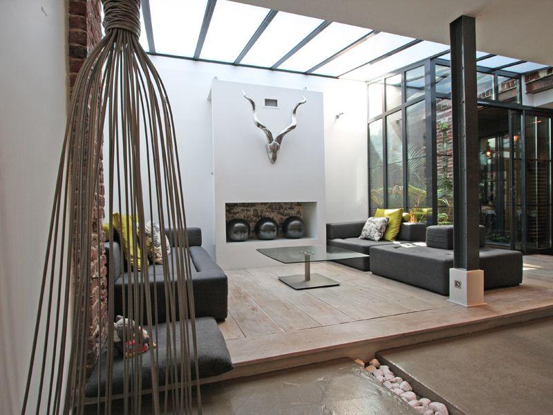 Paris maison loft avec jardin maisons de r ve for Loft jardin paris
