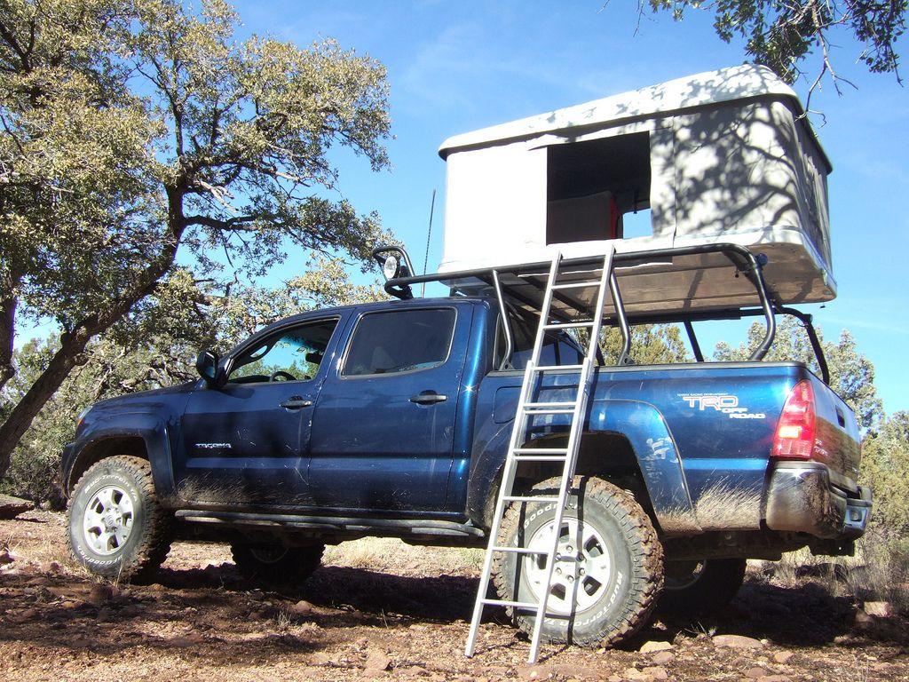 OffRoad Pop Up Truck Camper for Dbl Cab Taco? Toyota FJ