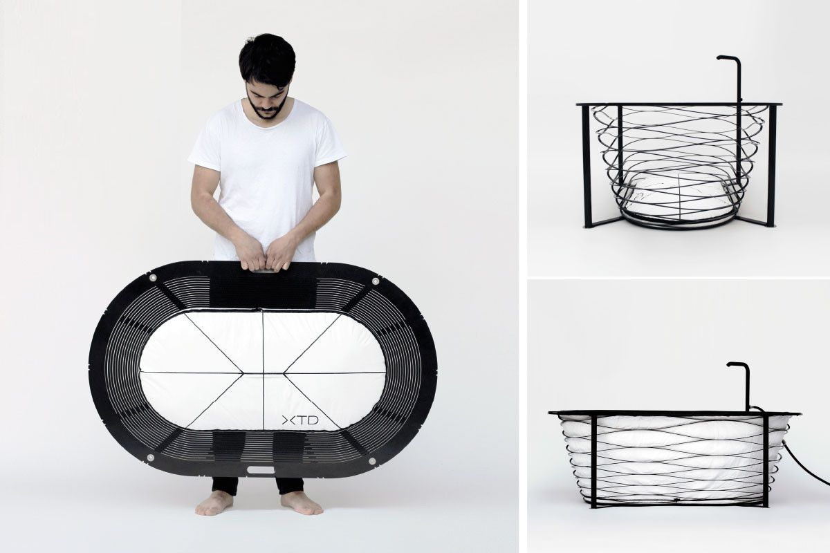 Koln Wir Kommen Www Iconist De Tragbare Badewanne Badewanne Mobile Badewanne