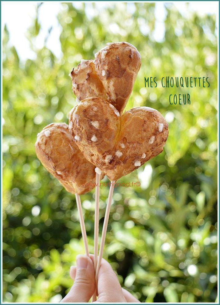 Coeurs De Chouquettes Sans Lactose Nutrigood Fr Recette Lait Valentines Day Food Recette