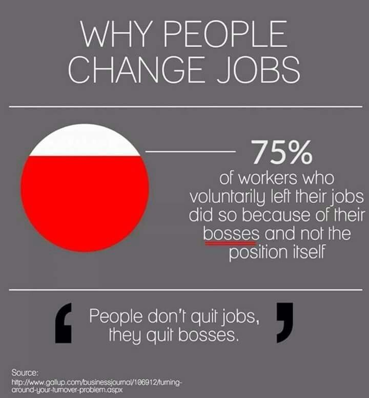 Its cuz of poor leadership and structure Its there loss - jobs that are left