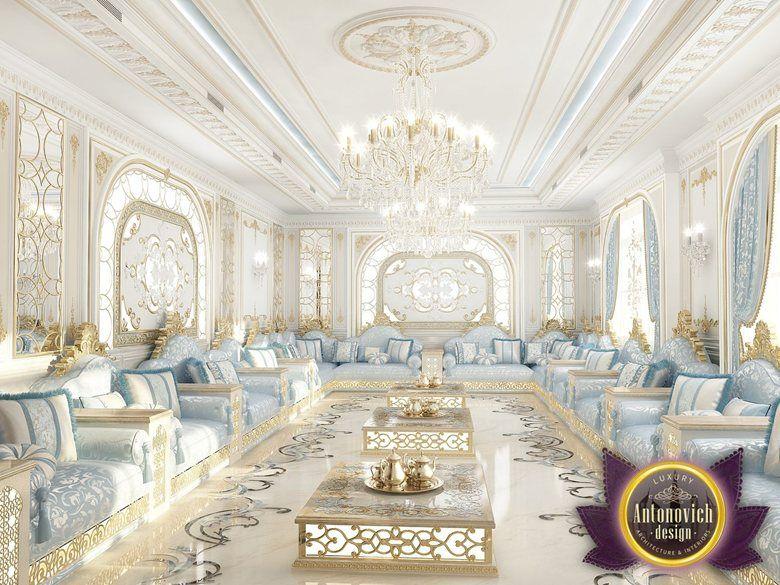The hospitable living room from Luxury Antonovich Design, Katrina Antonovich