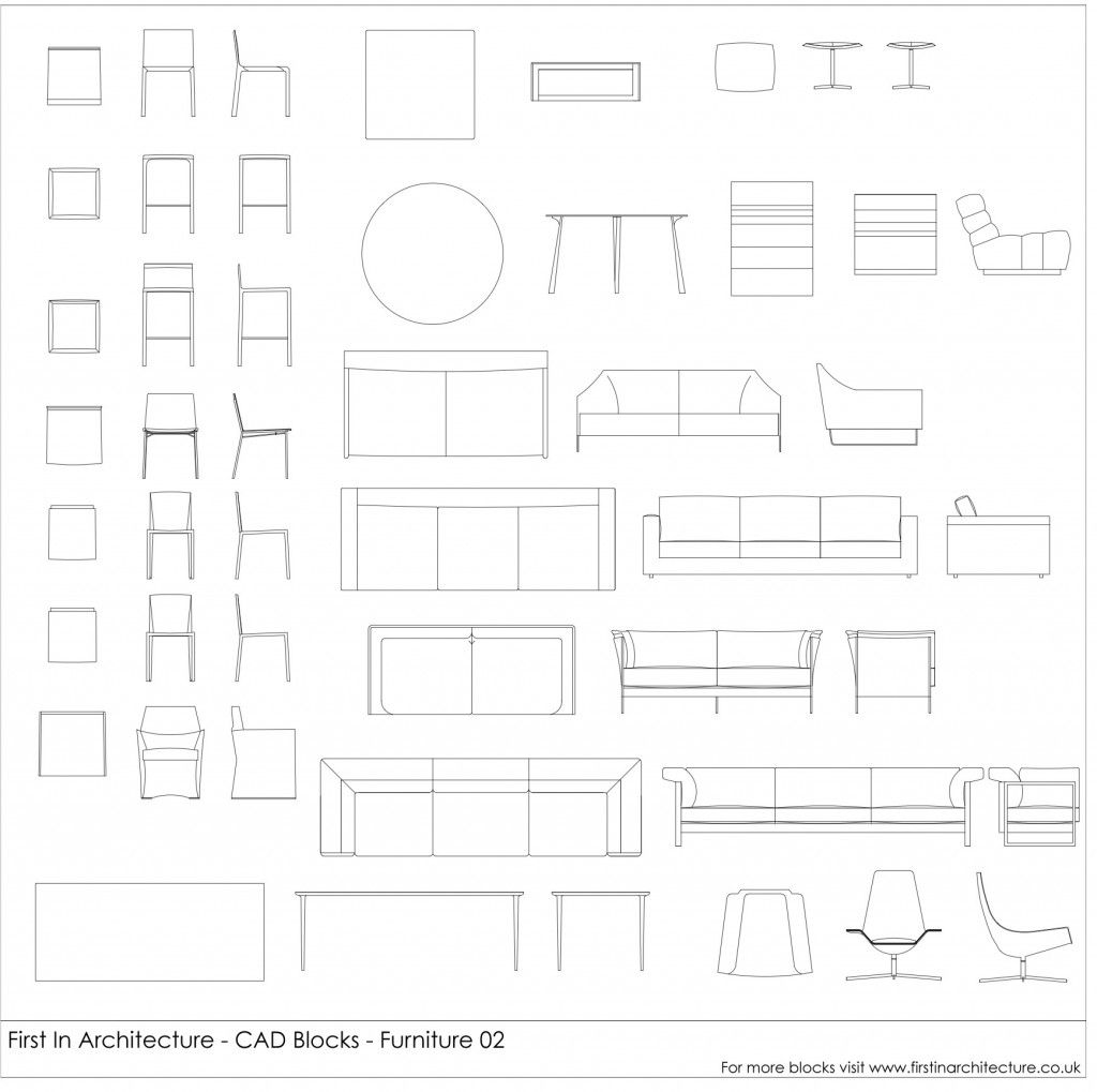 Cad blocks furniture mega pack bundle check autocad and architects biocorpaavc Gallery