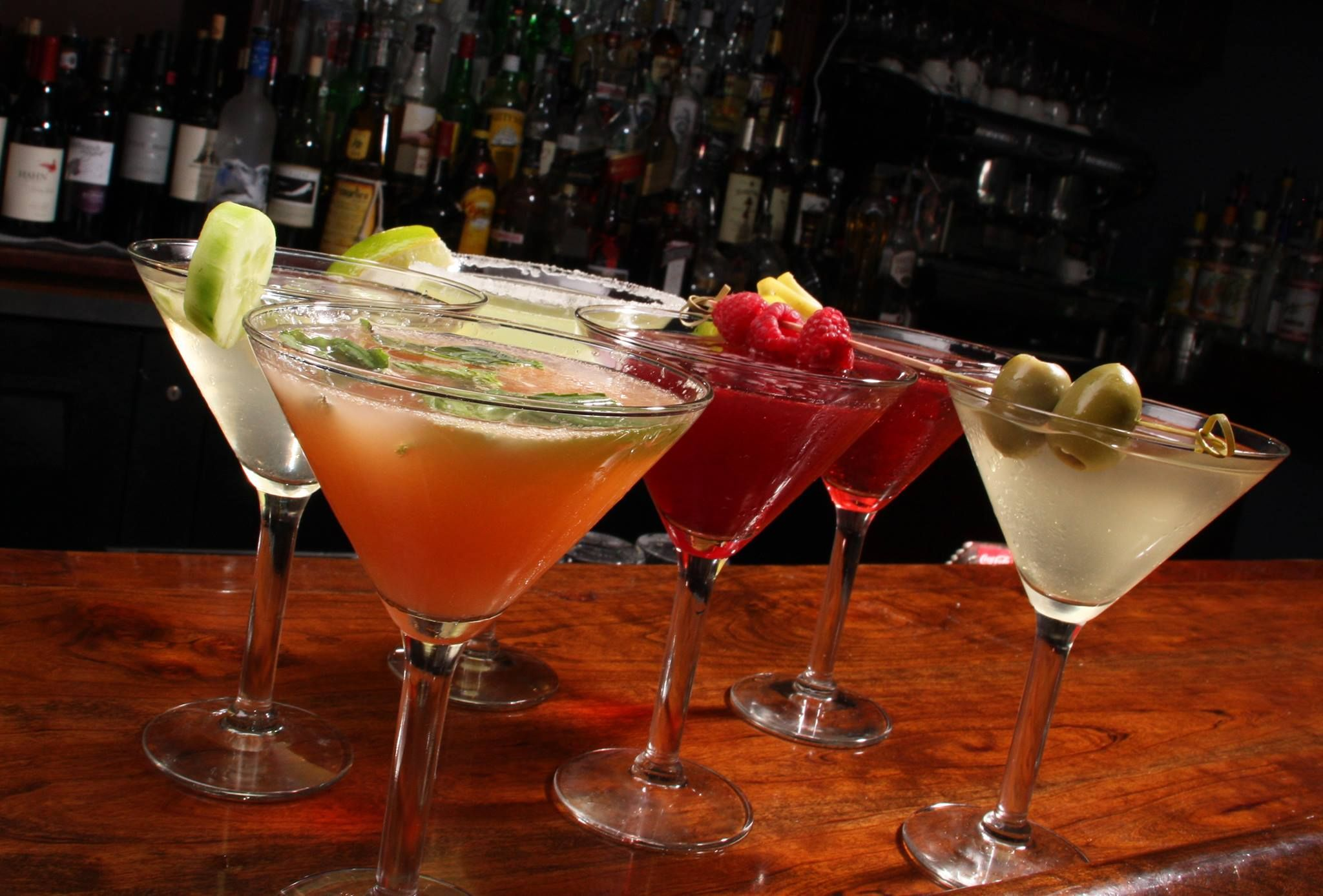 """Have you tried our new cocktail menu? Check out the """"latest gossip"""""""