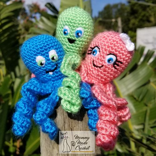 Ravelry: NICU Adorable Octopi pattern by Anna Wilson | Crochet Jelly ...