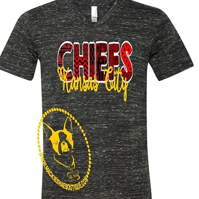 Another Color Combo of our Kansas City Chiefs Design