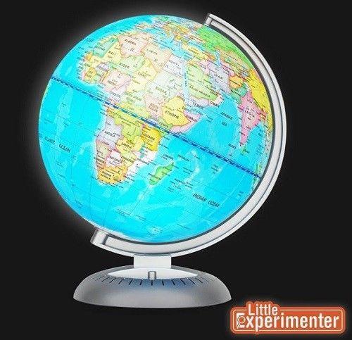 earth ball lighted illuminated world map globe for bedroom decor night view led earthballlighted