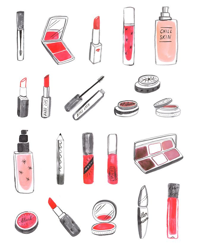 How to draw makeup products united states