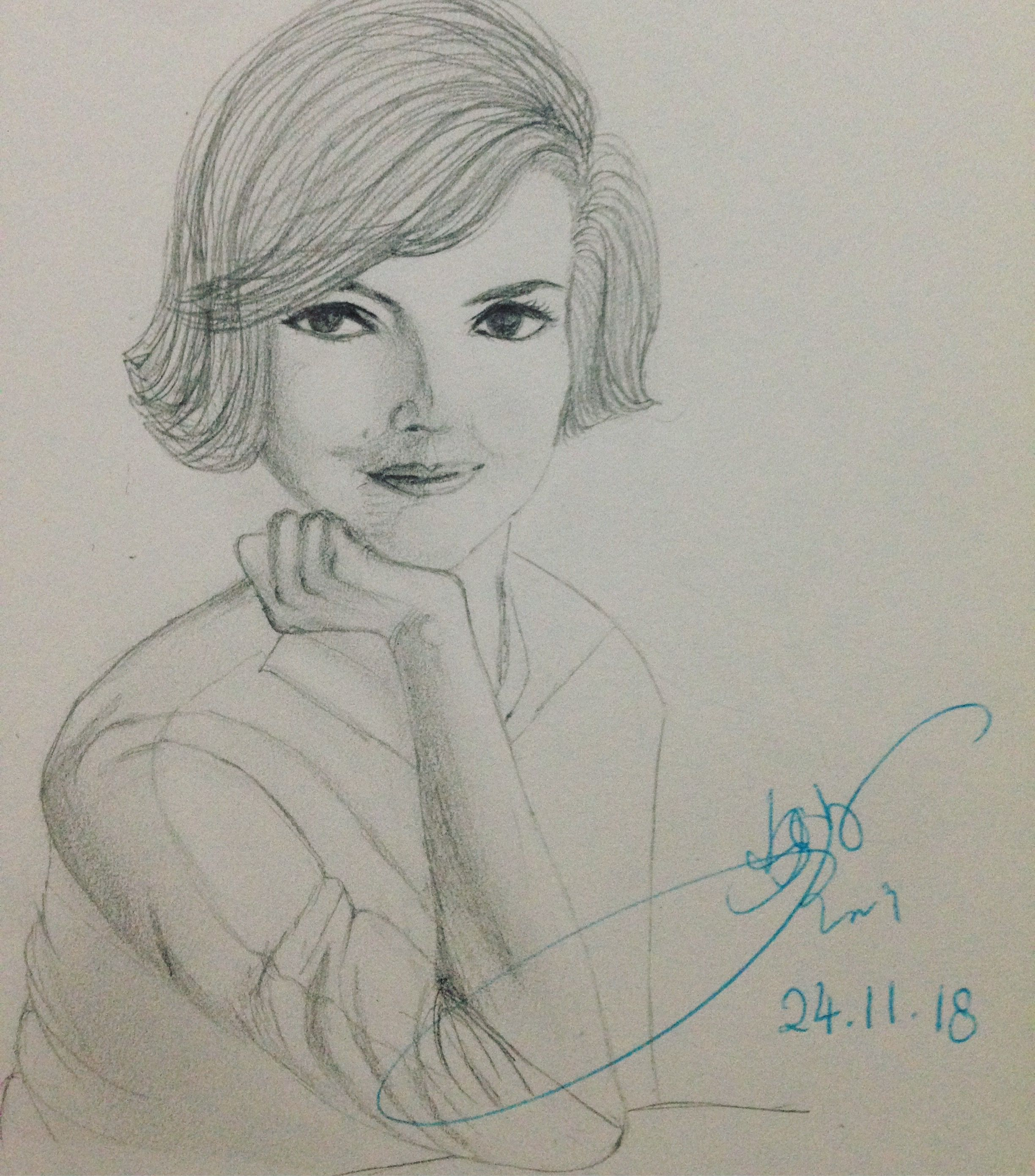 Pin by My Diary yc on Humble sketch   Female sketch, Male