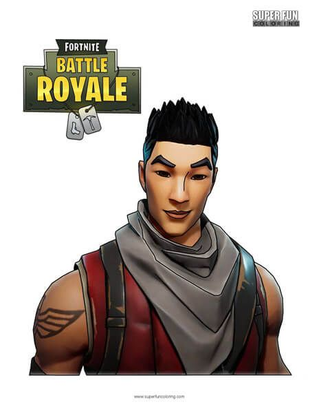 Fortnite Character Coloring Page In 2019 Coloring Pages