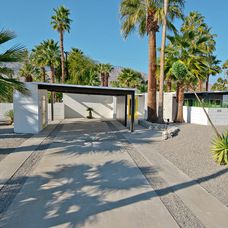 Contemporary Garage And Shed by House & Homes Palm Springs Home Staging