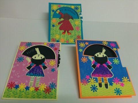43 Art And Craft How To Make Rotating Wheel Card X2f Magic Card X2f Teacher 39 S Day Card Youtube Card Making Art Teachers Day Card Crafts