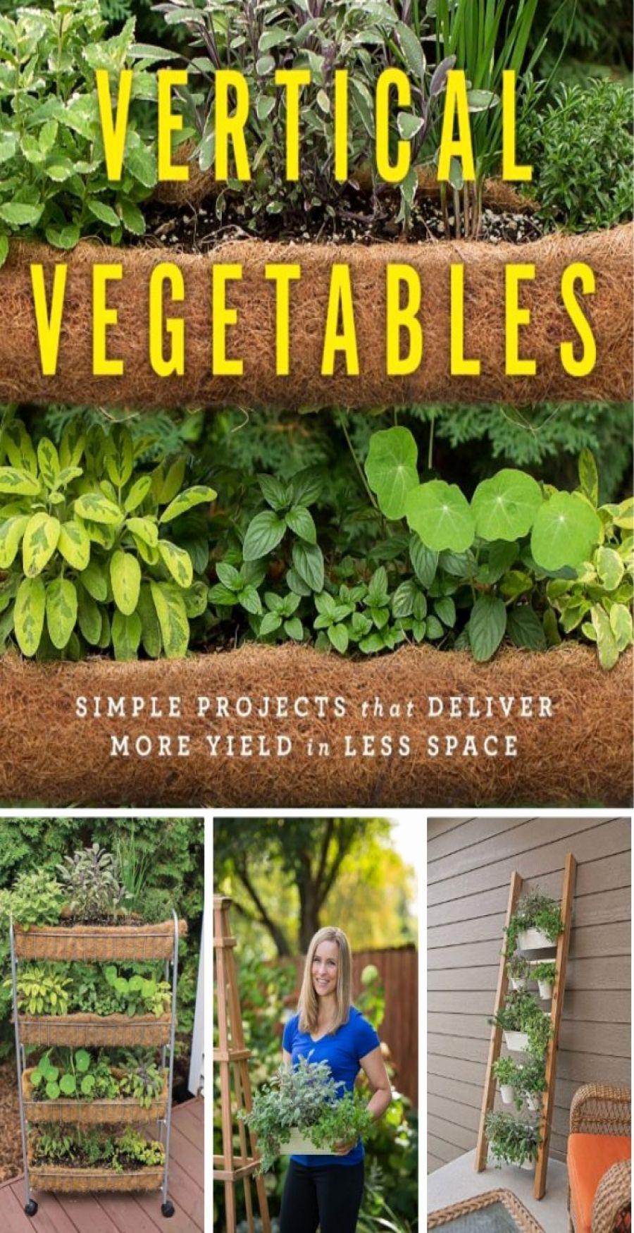 Lovely Vertical Garden Ideas Pinterest #senkrechtangelegtekräutergärten