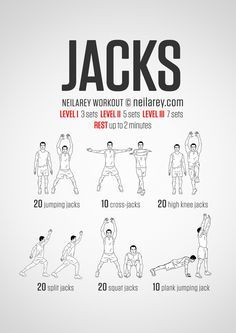 seal jacks exercise  workout