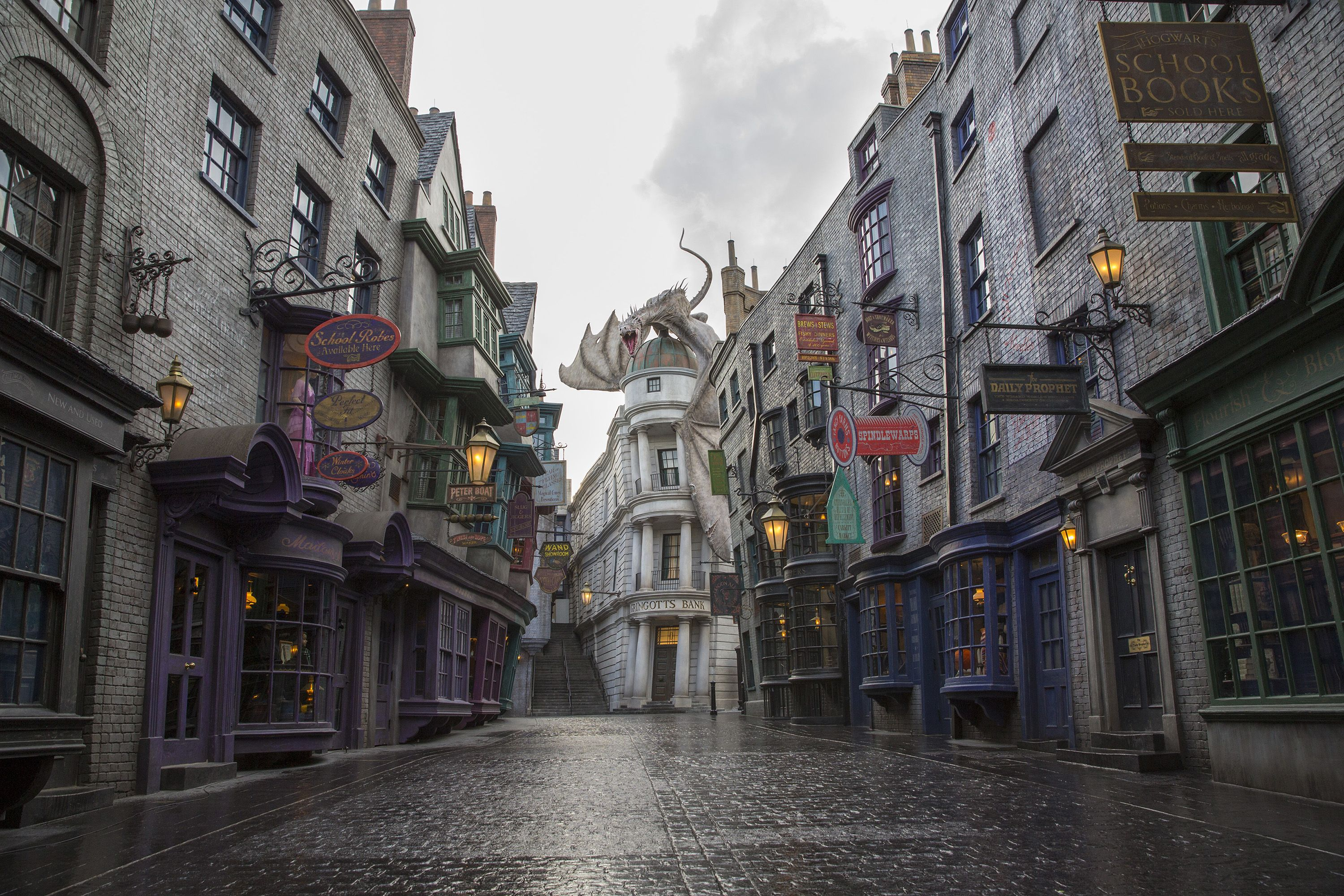 Diagon Alley To Open July 8th Beeb Log Harry Potter Diagon