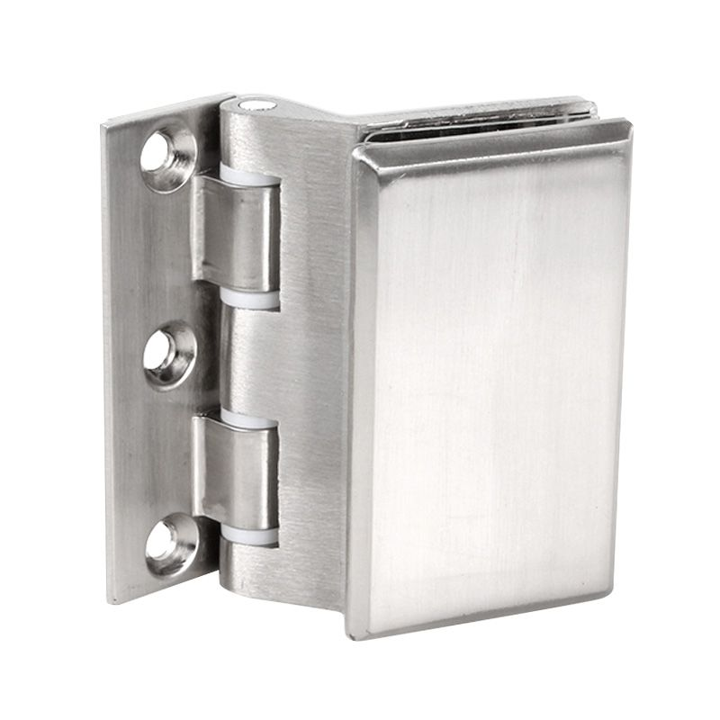 Stainless Steel Glass Door Hinge Hinge Aluminum Alloy Partition