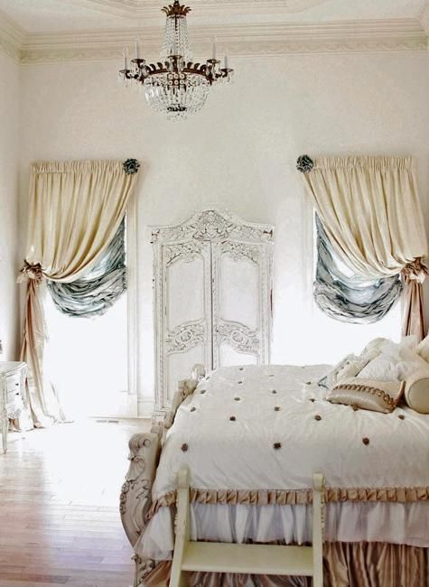 22 Classic French Decorating Ideas for Elegant Modern Bedrooms in Vintage Style is part of bedroom Classic French - French decorating ideas for classic, elegant and nostalgic bedrooms are comfortable and very popular trends