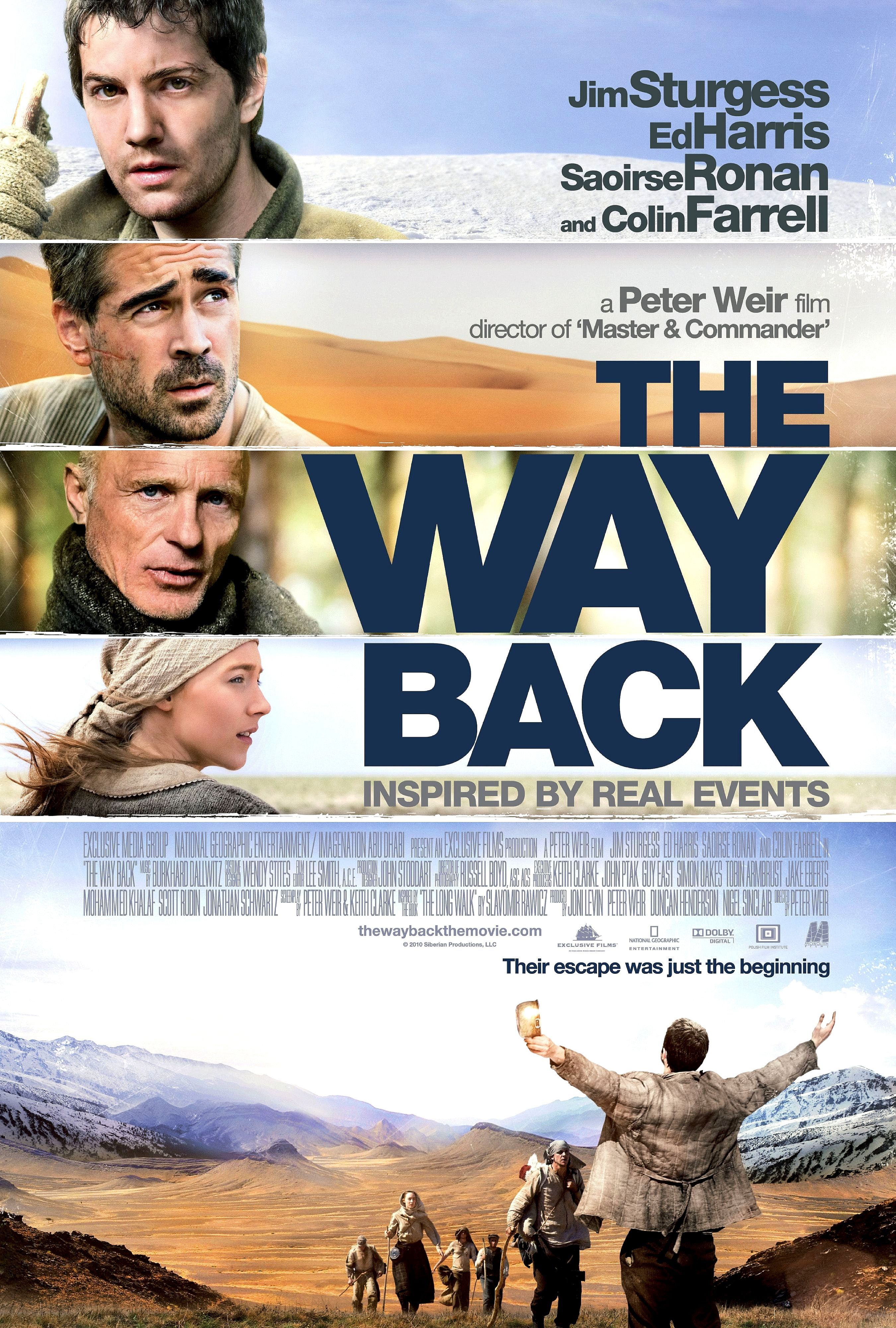 The Way Back 2010 With Images Travel Movies Peter Weir