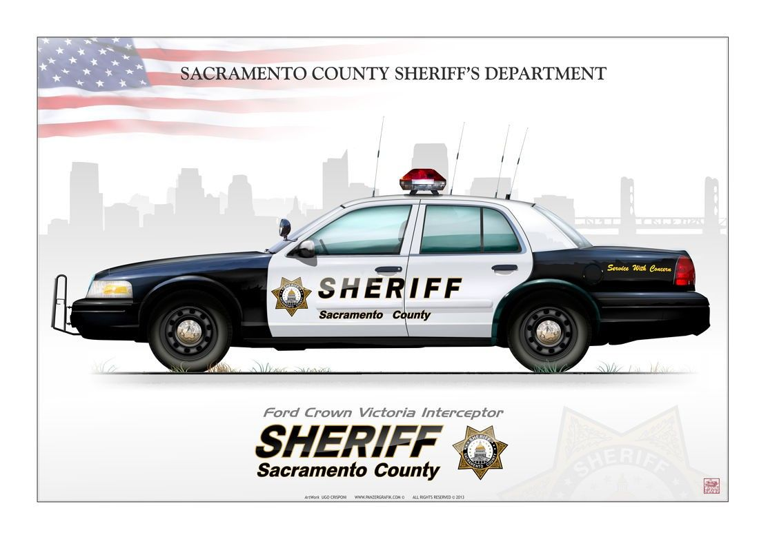 Ford sacramento county sheriff s department ford crown victoria interceptor