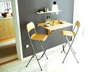 Mesas plegables mesa cocina pinterest mesas - Mesas pequenas plegables ...